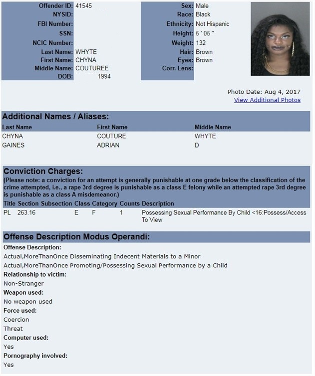 Search for level 3 sex offenders ny