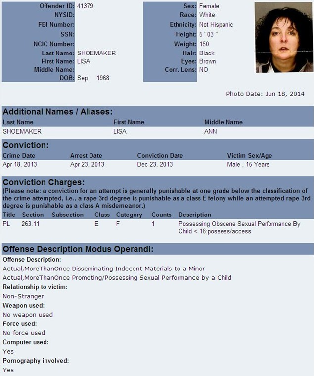 Registered sex offenders in middletown ny